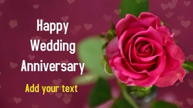 Wedding anniversary proposal video