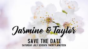 Wedding Announcement งานแสดงผลงานแบบดิจิทัล (16:9) template
