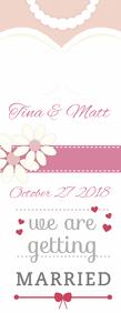 Wedding Announcement Poster