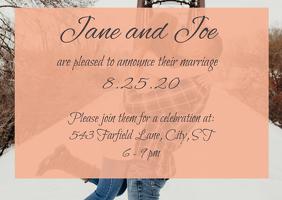 Wedding Announcement Template