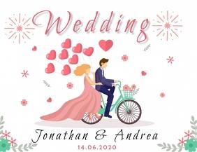 wedding announcement Template Flyer (US Letter)