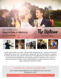 Wedding Band Flyer Template