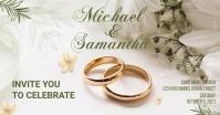 Wedding Banner Template Facebook Shared Image