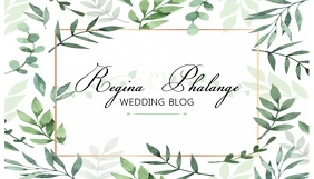 Wedding Blog Header Design Template