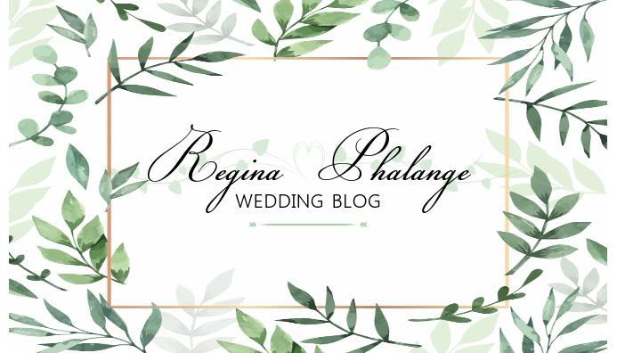 Wedding Blog Header Design Template ส่วนหัวบล็อก