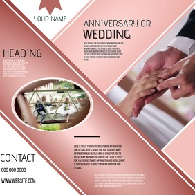 WEDDING BUSINESS COMPANY CORPORATE EVENT AD