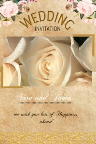 wedding card flyer,small business flyer