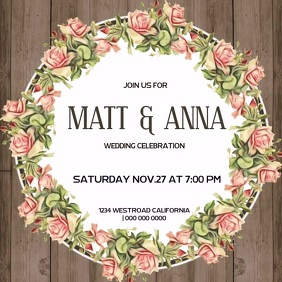 WEDDING CELEBRATION SOCIAL MEDIA TEMPLATE