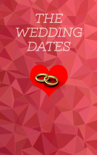 WEDDING DATE BOOK TEMPLATE Kindle/Book Covers