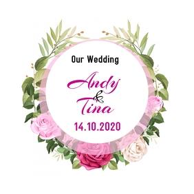 Wedding Date ปกอัลบั้ม template