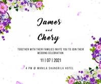 Wedding Persegi Panjang Besar template