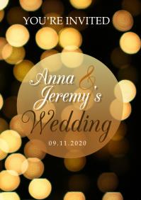 Wedding A5 template