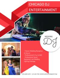 Wedding Event DJ Flyer Template