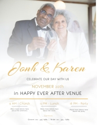 Wedding Event Invitation Flyer