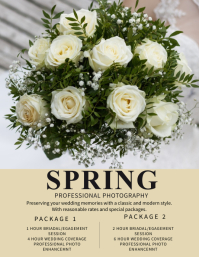 Wedding/Event Photography Flyer Template
