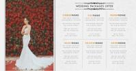 Wedding Event Planner Price List Imagem partilhada do Facebook template
