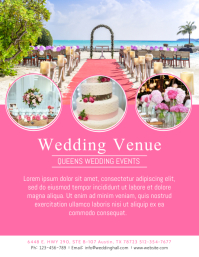 Wedding Event Venue Flyer Template