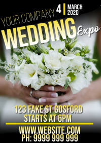 Wedding Expo A5 template