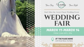 Wedding Fair Ad Digital Display Landscape Video