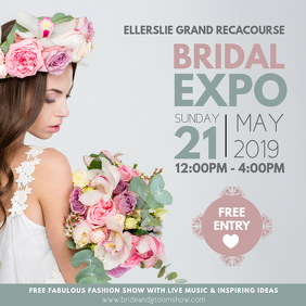 Wedding Fair Bridal Expo Instagram Post
