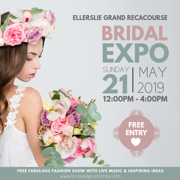 Wedding Fair Bridal Expo Instagram Post template