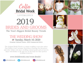 Wedding Fair Bridal Week Landscape Flyer