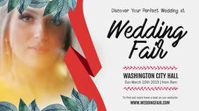 Wedding Fair Digital Display Landscape Video