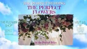 Wedding Flower Video Ad