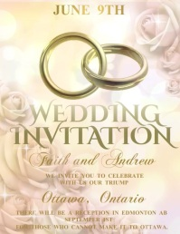 wedding flyer,anniversary ,romantic