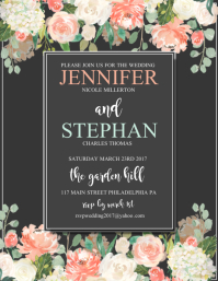customize 300 wedding flyer us letter templates postermywall