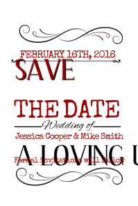 910+ Save The Date Customizable Design Templates | PosterMyWall