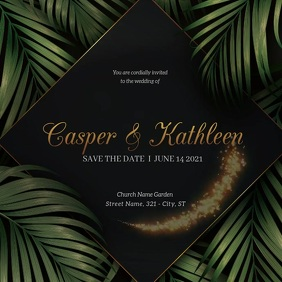 wedding flyers,anniversary flyers Instagram Post template