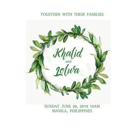 Wedding Invitation 04