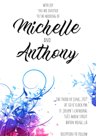 1 360 Customizable Design Templates For Wedding Postermywall