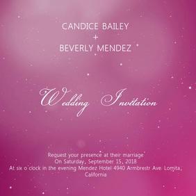 Wedding invitation templates postermywall wedding invitation flyer stopboris Image collections