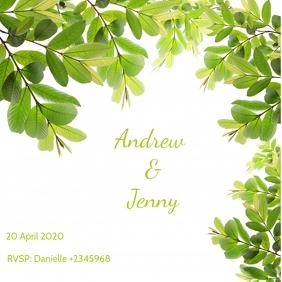 Wedding Invitation Instagram Template