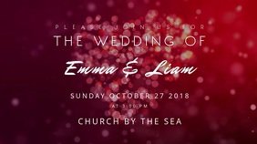 Wedding Invitation Motion Poster