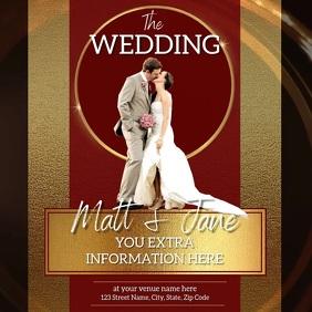 WEDDING INVITATION TEMPLATE VIDEO DESIGN
