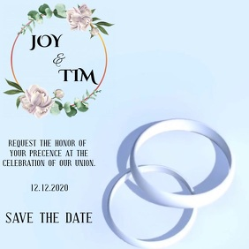 WEDDING INVITATION VIDEO TEMPLATE