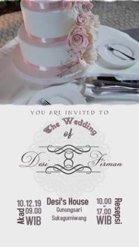Wedding Invitation Video Template WhatsApp Status