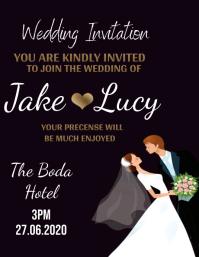 wedding invite invitation Design Template