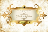 Wedding Label Etykieta template