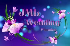 Wedding Logo Poster template