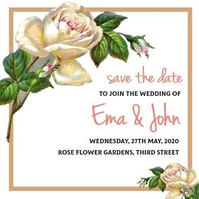 Wedding/Marriage invitation ปกอัลบั้ม template