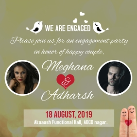 Wedding/Marriage invitation