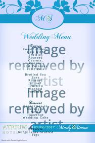 wedding menu3