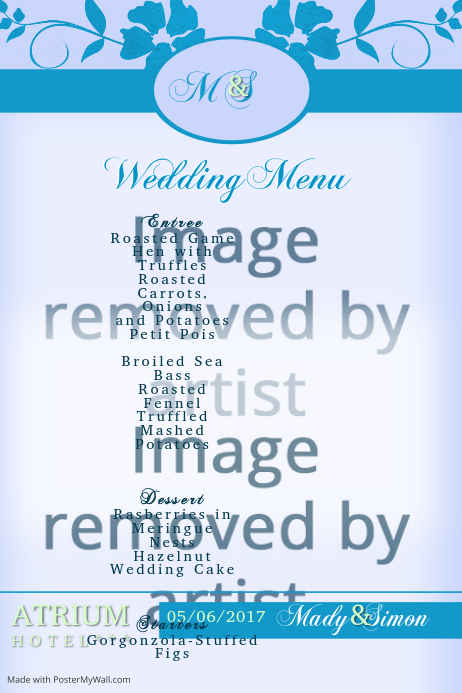 wedding menu3