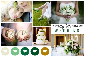Wedding Moodboard Poster