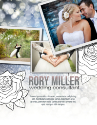 Wedding Party Planner Flyer