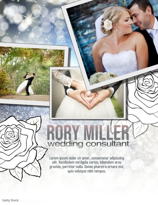 Wedding Party Planner Flyer